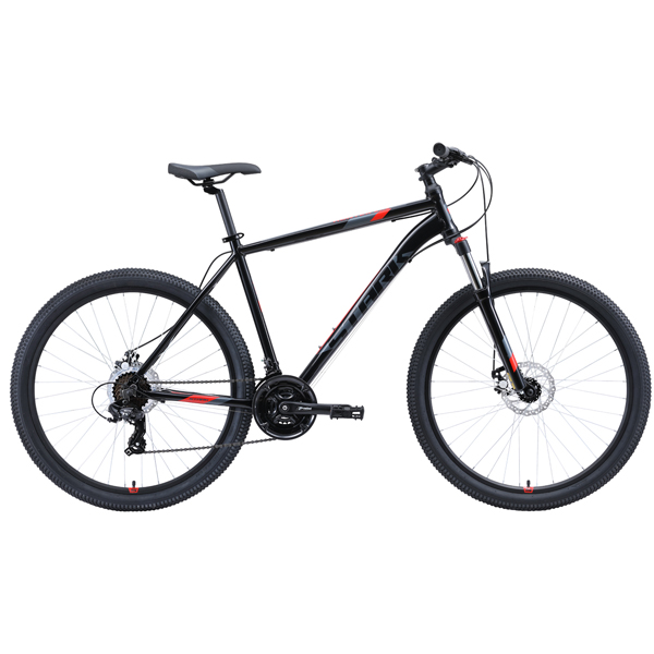 """Велосипед Stark 20 Hunter 27.2 D 20"""" (Чёрный)"""