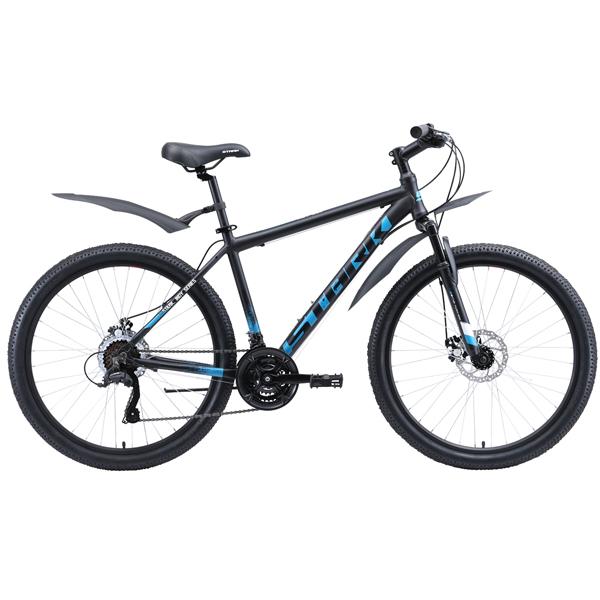 """Велосипед Stark 20 Indy 26.1 D Microshift 16"""" (Чёрный)"""