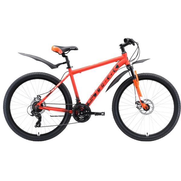 """Велосипед Stark 20 Indy 26.1 D Shimano 16"""" (Оранжевый)"""