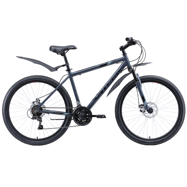 "Велосипед Stark 20 Outpost 26.1 D 18"" (Серый/чёрный)"