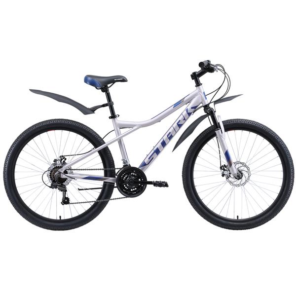 """Велосипед Stark 20 Slash 26.1 D 16"""" (Серый/голубой)"""