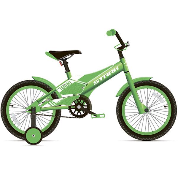 Велосипед Stark 20 Tanuki 16 Boy (Зелёный)