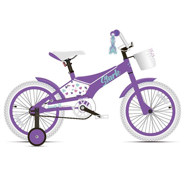 Велосипед Stark 20 Tanuki 16 Girl фиолетовый/бирюзовый