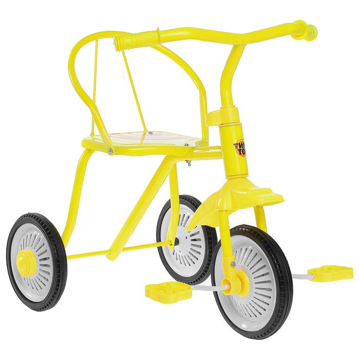 """Велосипед трёхколёсный «Тип-Топ 312», колёса 8"""" и 6"""", цвет микс"""