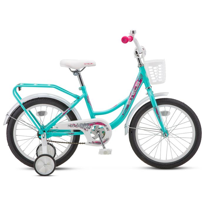 "Велосипед 14"" Stels Flyte Lady, Z011, цвет бирюзовый"