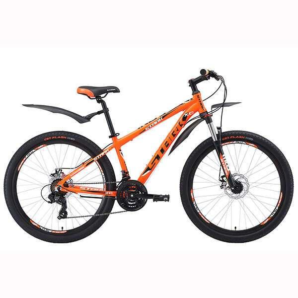 Велосипед Stark Indy 26.2 D (2018) (20'') (Оранжевый/черный)