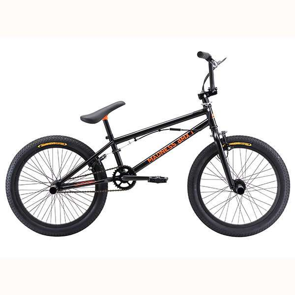 Велосипед Stark Madness BMX 1 (2018) (20'') (Черный/оранжевый)