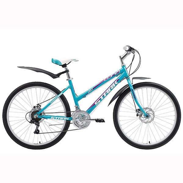 Велосипед Stark Luna 26.1 RD  (2018) (16'') (Голубой/фиолетовый)