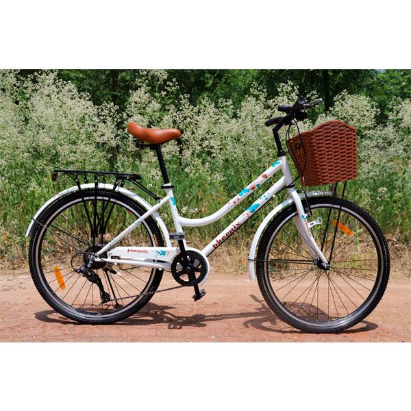 Велосипед городской TP-2608-13A CityBike Белый