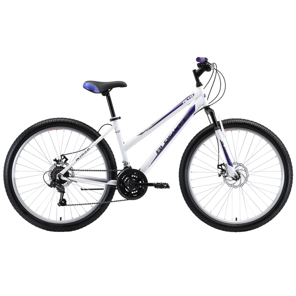 "Велосипед Black One Alta 26 D 16"" (Белый)"