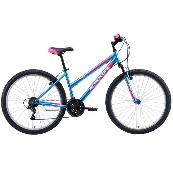 Велосипед Black One Alta 26 14,5'' (Голубой)