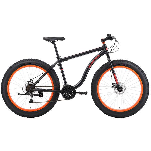 """Велосипед Black One Monster 26 D 18"""" (Черный)"""