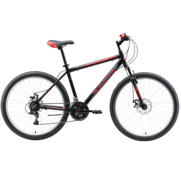 """Велосипед Black One Onix 26 D Alloy чёрный/серый/красный 20"""""""