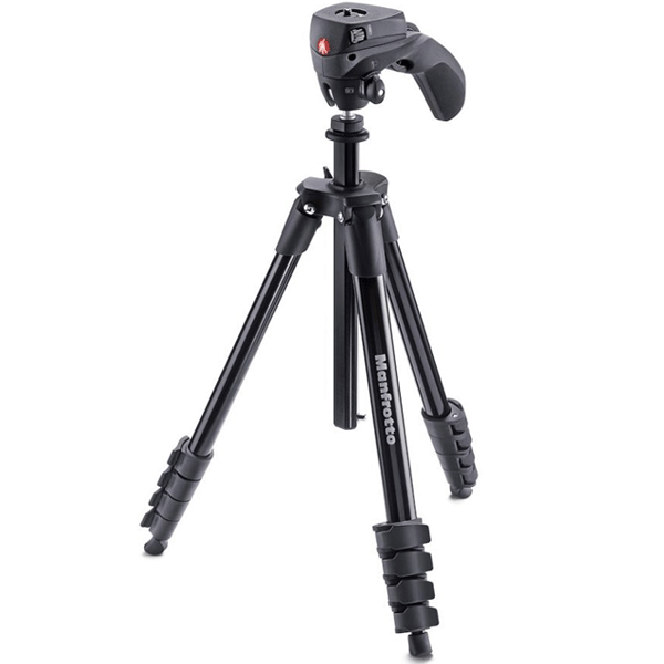 Штатив Manfrotto Compact Action (MKCOMPACTACN-BK)