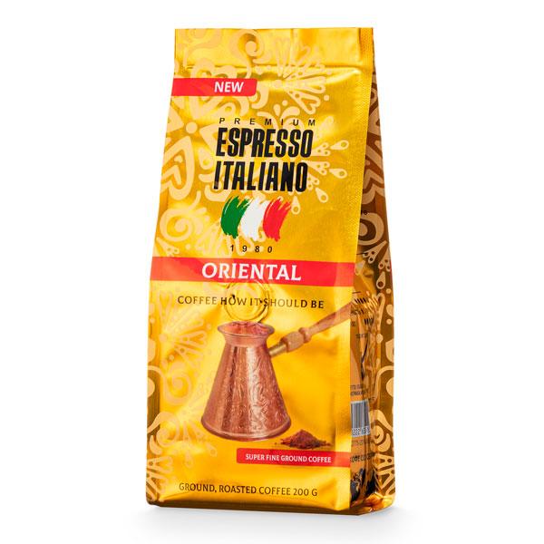 Кофе молотый Espresso Italiano Oriental 200 г
