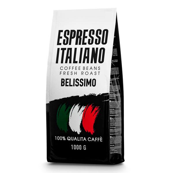 Кофе зерновой Espresso Italiano Belissimo 1000 г