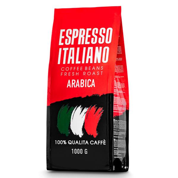 Кофе зерновой Espresso Italiano Arabica 1000 г