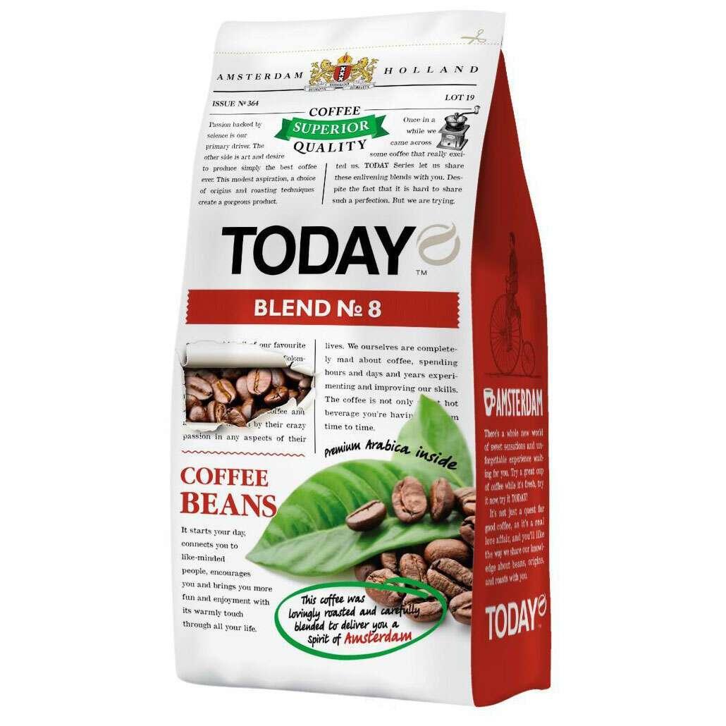 Кофе Today Blend №8 в зернах