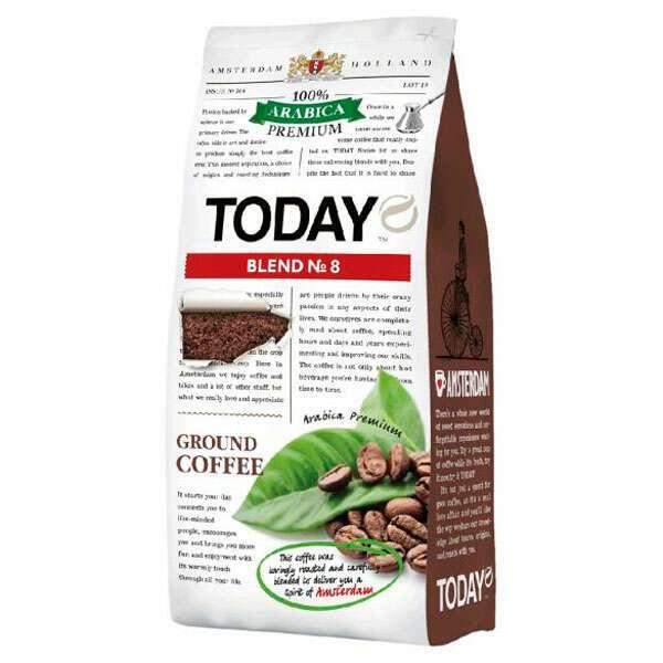 Кофе молотый Today Blend №8 (200 гр)