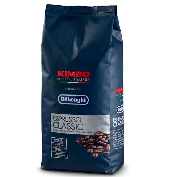 Кофе зерновой Delonghi Kimbo Classic 1000 г