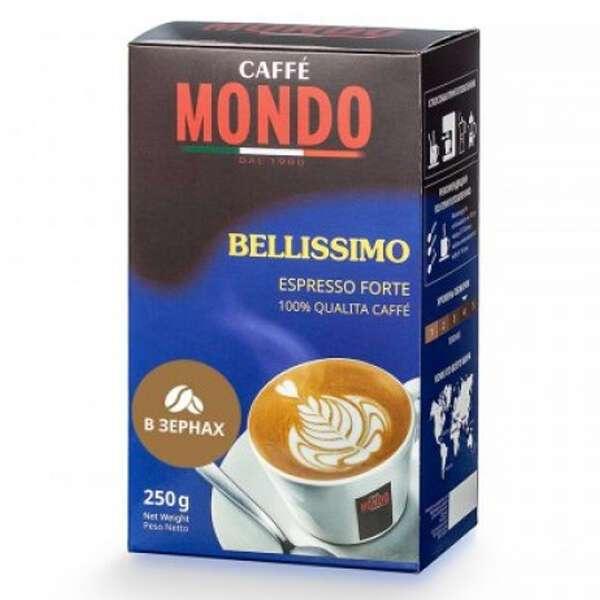 Зерновой кофе Caffe Mondo Bellissimo Espresso Forte, 250 гр