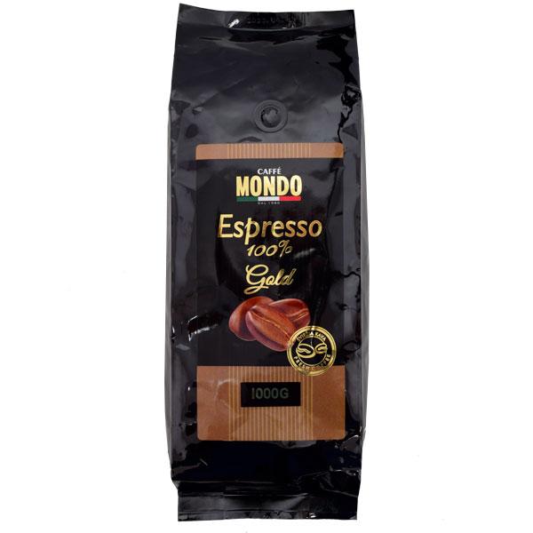 Кофе зерновой Caffe Mondo Espresso Gold 1000 г