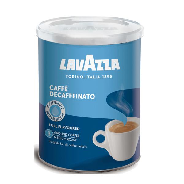 Кофе LAVAZZA Caffe Decaffeinato молотый 250 гр