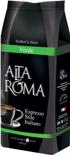 Кофе зерновой Alta Roma Verde 1000 г