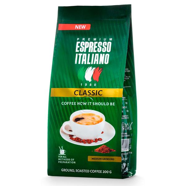 Кофе молотый Espresso Italiano Classic 200 г