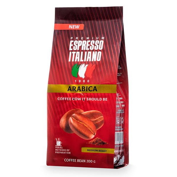 Кофе молотый Espresso Italiano Arabica 200 г