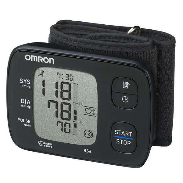 Тонометр автоматический на запястье Omron HEM-6221-E/RS6