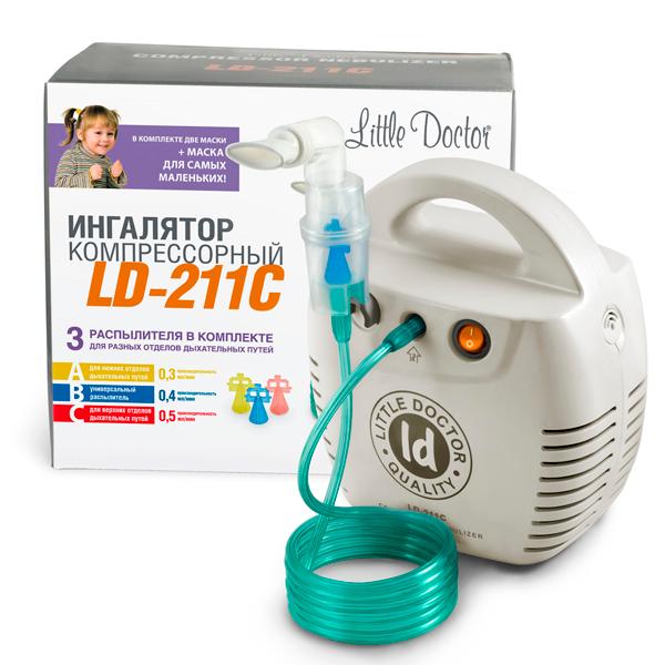 Ингалятор компрессорный Little Doctor LD-211С