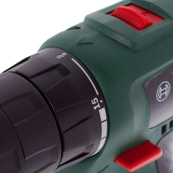 Аккумуляторная дрель-шуруповерт Bosch EasyDrill 1200 (06039A210B), 12В, 2х1.5Ач, БЗП 10мм