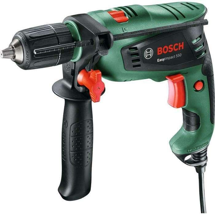 Ударная дрель Bosch EasyImpact 550 (0.603.130.020), 550 Вт, БЗП 13 мм, 3000 об/мин, кейс
