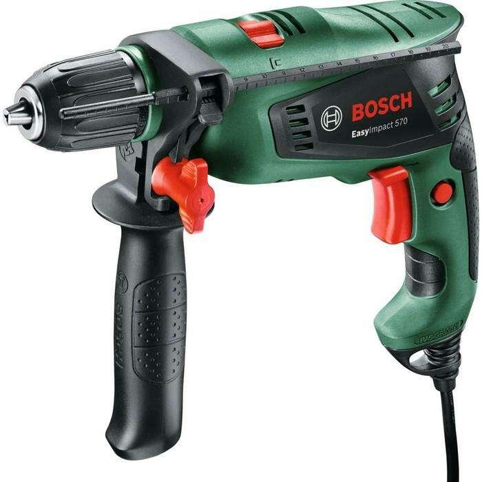 Ударная дрель Bosch EasyImpact 570 (0.603.130.120), 570 Вт, БЗП 13 мм, 3000 об/мин, кейс