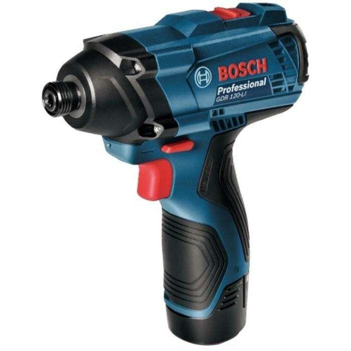 Аккумуляторный ударный гайковерт Bosch GDR 120-LI Без Акк и ЗУ
