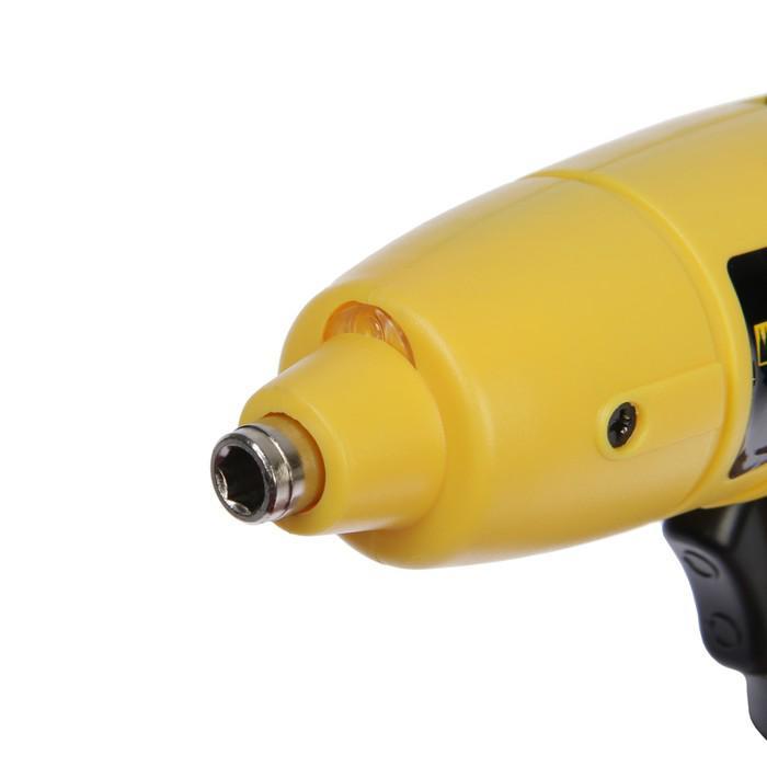 Отвертка аккумуляторная Kolner KCSD 4.8М, 4.8 В, 200 об/мин, 2.5 Нм, 0.6 Ач, Ni-Cd, 6.35 мм   420928
