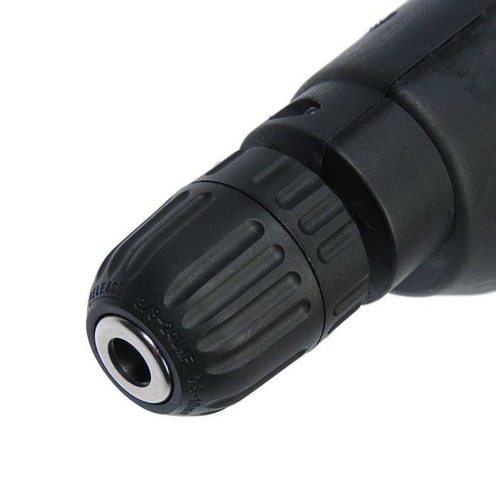 Дрель электрическая P.I.T. РВМ10-D СТАНДАРТ, 500 Вт, БЗП 10 мм, 2800 об/мин, реверс