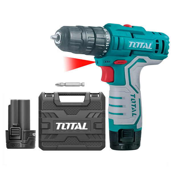 Дрель аккумуляторная Total TDLI12325
