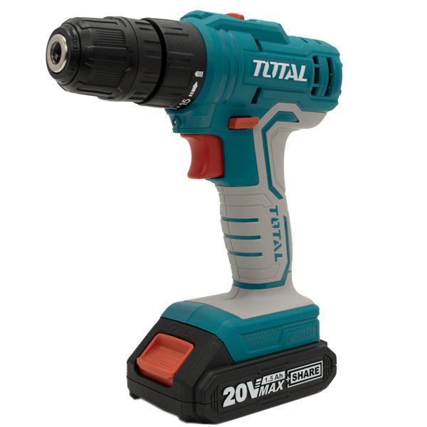 Дрель аккумуляторная Total TDLI20011