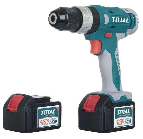 Шуруповерт аккумуляторный TOTAL TIDLI228180