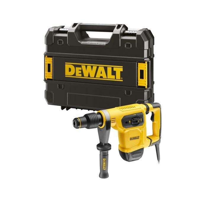 Перфоратор DeWalt D 25481 K, SDS-max, 3 режима, 1050Вт, 7.3Дж, 3150 уд/мин, кейс