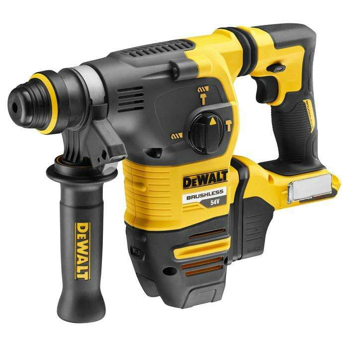Перфоратор аккум. DeWalt DCH333 NT, SDS-Plus, 54 В, 4480 уд/мин, 1000 об/мин  БЕЗ АКК И ЗУ