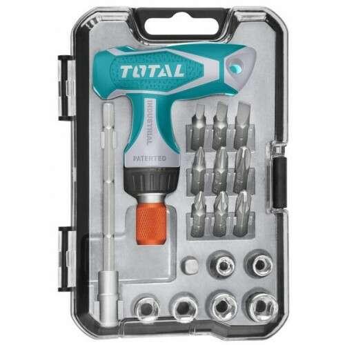 Силовая отвертка Total TACSD30186