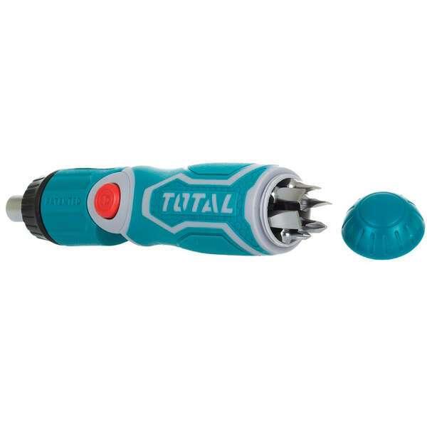 Отвертка с храповым механизмом TOTAL TACSD30136