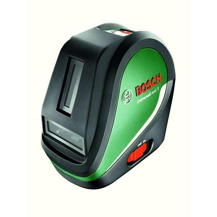 """Лазерный нивелир Bosch UniversalLevel 3 SET (0603663901),до 10м,крепление 1/4"""",штатив 1.5м"""