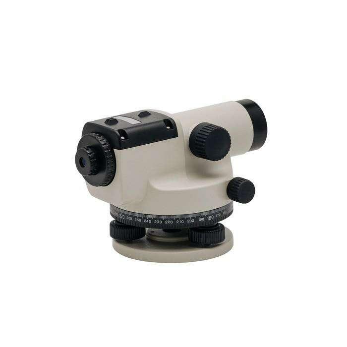 Нивелир оптический ADA Basic А00117, 20Х, от 0.3 м, d=38 мм, погрешность 2.5 мм на 1 км