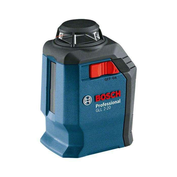 Лазерный нивелир Bosch GLL 2-20 (0601063J00), IP54, ± 3 мм, 20 м, креп. BM3, кейс