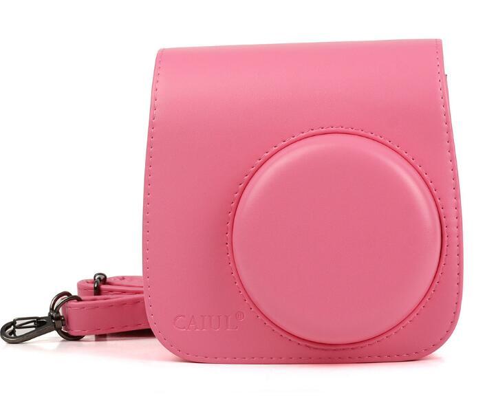 Кожанный чехол Fujifilm Instax mini 9 розов.фламинго (0821-1713D)
