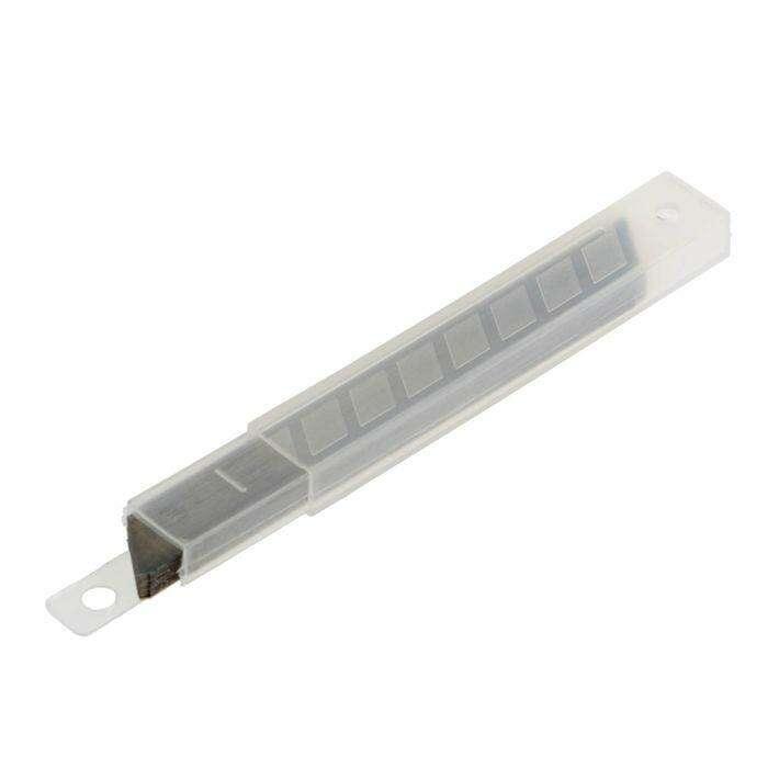 Лезвия для ножей TUNDRA basic, сегментированные, 9х0.4 мм, 10 наборов по 10 лезвий